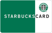 Starbucks - $25.00 gift card